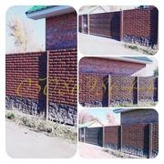 Лучший Бетонный забор,  еврозабор в Полтаве! Монтаж и Покраска